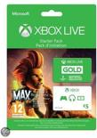Microsoft Xbox Live Gold 3 maanden + € 5,- Giftcard + Max: The Curse of the Brotherhood - Starter Pack