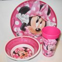 Minnie Mouse Eetset - 3-delig
