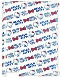 Hello Kitty Back Cover - Voor Apple iPad 2 / 3 / 4 - Wit