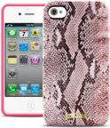 Just Cavalli Python iPhone 4 & 4S TPU Hoes Pink