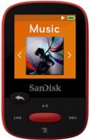 Sandisk Sansa Clip Sports - MP3-speler - 4 GB - Rood
