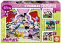 Educa Minnie Mouse - 12/16/20/25 stukjes
