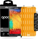 QooQoon silqShield™ Invisible Screenprotector voor Samsung Galaxy Note 3 - Front met SmartApply