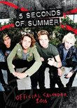 The Official 5 Seconds of Summer 2016 A3 Calendar