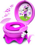 Tomy - Disney Minnie Mouse Toilettrainingssysteem met geluid - Roze