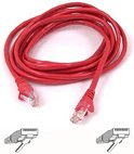 CABLE.CAT6.UTP.RJ45M/M.10M.RED.PATCH.SNAGLESS