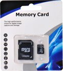 Micro SD Card 64GB Class 10 met SDHC Adapter voor Smartphone, Tablet, Digitale Camera
