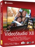 Corel, Video Studio X8 Pro (Dutch / French)