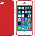 Iphone 5, 5c case hoes van Safekeepers in kleur Rood