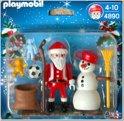 Playmobil Kerstman met Sneeuwman - 4890