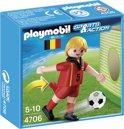 Playmobil Voetbalspeler België - 4706