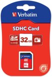 Verbatim, SECURE DIGITAL CARD 32GB c4 P-BLIST MIN. READ 4MB/SEC MIN. WRITE 4MB/SEC