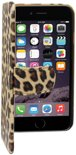 Colorfone PREMIUM Book1 Case/ Hoesje  voor de  Apple iPhone 6 Luipaard print