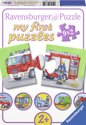 Ravensburger My First Puzzle - Speciale Voertuigen