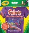 Crayola Textielstiften - 8 Stuks
