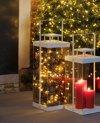 Mica Decorations - Lantaarn Aarhus - 50 cm hoog - Wit