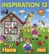 Hama Strijkkralen Inspiratie Boekje no. 13
