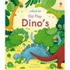 Dinos - flip flap dino's