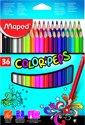 Color'peps kleurpotlood x 36