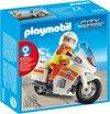 Playmobil Ambulance op motor met zwaailicht - 5544