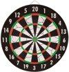Abbey Darts Flock - Dartbord + Steeltip 18 gram Dartpijlen
