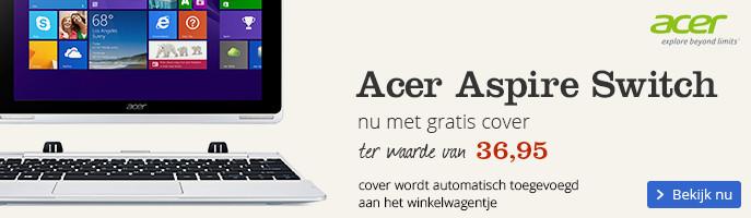 Gratis Gecko cover bij aankoop van een Acer Switch