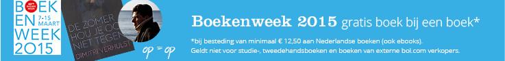 Boekenweek 2015   ontvang een gratis boek bij een boek