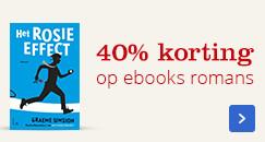 40 % korting | op de mooiste romans
