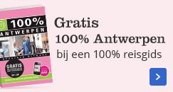 Gratis 100% Antwerpen bij een 100% reisgids