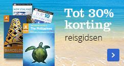 Tot 30% korting | op reisgidsen van Rough Guide en DK Eyewitness