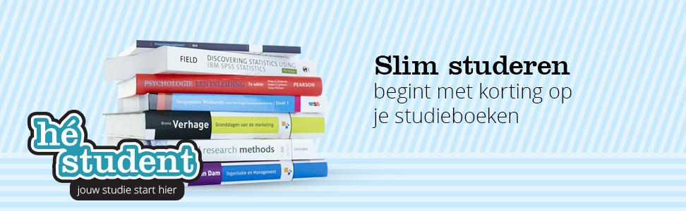 Slim studeren begint met korting op je studieboeken