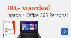 30,- voordeel laptop & Office 365 Personal
