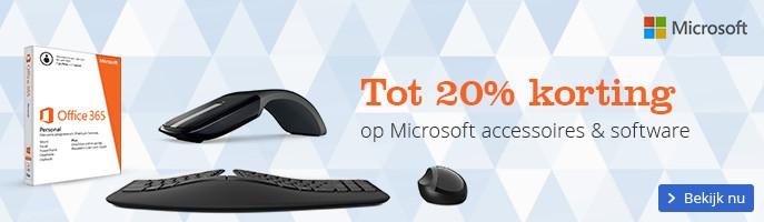 Tot 20% korting op Microsoft hardware en software