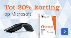 Tot 20% korting | op Microsoft