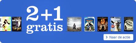 2+1 gratis op Engelse boeken, Ebooks, Dvd's, Blu-ray's, Muziek, Games