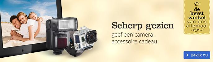 Scherp gezien geef een camera-accessoire cadeau