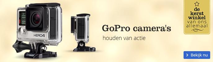 GoPro camera's houden van actie