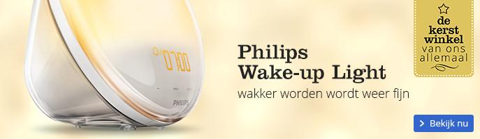 Philips Wake-up Light wakker worden wordt weer fijn
