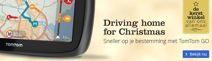 Driving home for Christmas altijd de snelste route met TomTom