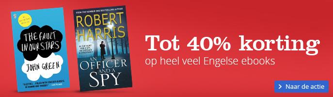 Tot 40% korting op heel veel Engelse ebooks
