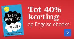 Tot 40%korting op Engelse ebooks