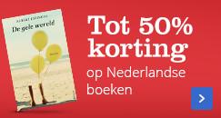 Tot 50% korting op Nederlandse boeken