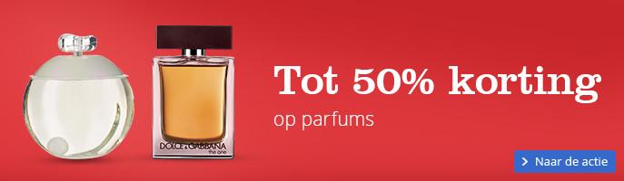 Tot 50% korting op parfums