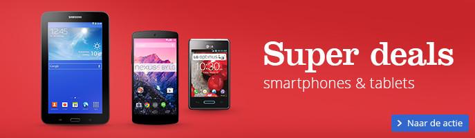 Extra scherp geprijsde smartphones & tablets