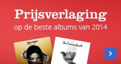 Prijsverlaging op de beste albums van 2014