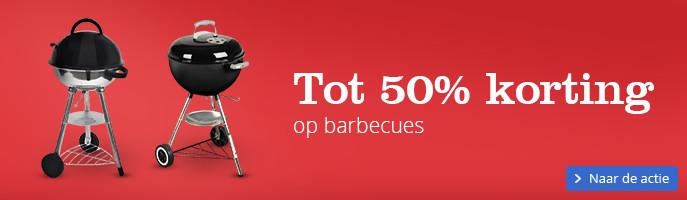 Tot 60% korting op barbecues