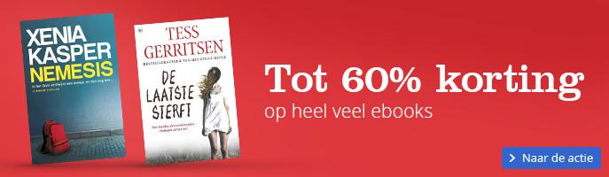 Tot 60%korting op heel veel ebooks