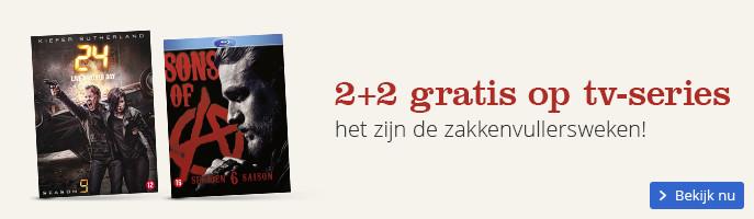 2+2 gratis op tv-series het zijn de zakkenvullersweken!