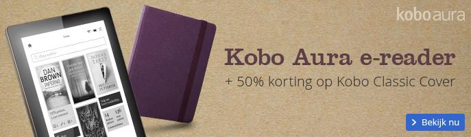 50% korting op een Kobo Cover
