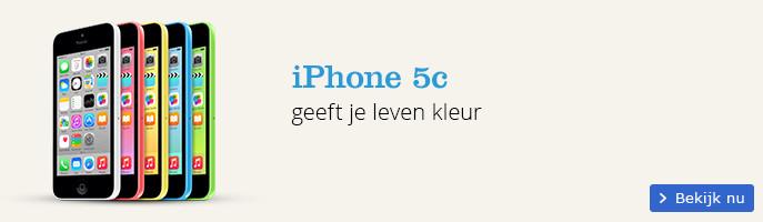 Apple iPhone 5c geeft je kleur